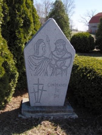 St  Louis Cemetery - Custar, Ohio - Outdoor Stations of the Cross on