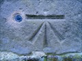 Image for Cut Benchmark with Bolt on St Andrew's Church, Wroxeter. Shropshire