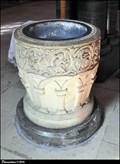 Image for Temple Church baptismal font - Inner Temple (London)