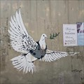 Image for Armoured Dove by Banksy - Bethlehem, Palestine