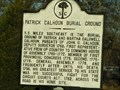 Image for Patrick Calhoun Family Burial Ground