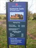 Image for Kenilworth Castle