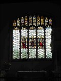 Image for East Window, St Peter's, Coughton, Warwickshire, England