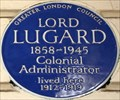 Image for Lord Lugard - Rutland Gate, London, UK
