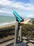 Image for Cliff top binoculars, Carolles, Manche, France