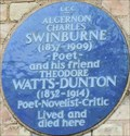 Image for Algernon Charles Swinburne and Theodore Watts-Dunton - Putney Hill, London, UK