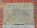 Image for 1909 - Zion Swedish Evangelical Lutheran Church - Spokane, WA