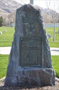 Image for World War I Memorial ~ Brigham City, Utah