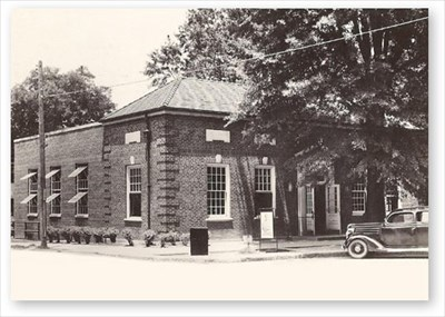 1940s photo of the old post office