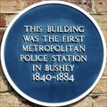 Image for First Metropolitan Police Station in Bushey - High Street, Bushey, Herts, UK
