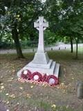 Image for Combined World War I/II Memorial, Salwarpe, Worcestershire, England