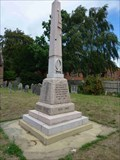 Image for War memorial, St Benedict Biscop, Wombourne, South Staffordshire, England