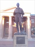 Image for Statue of John W. Mackay - University of Nevada, Reno
