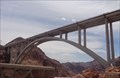 Image for Bridge rises in shadow of Hoover Dam - Boulder City, Nevada.