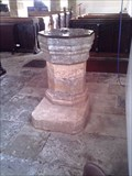 Image for The Font, Holy Cross Church, Byfield, Northants.