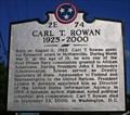 Image for CARL T. ROWAN ~ 2E 74