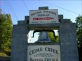 Image for Cedar Creek Baptist Church Bell ~ Spurgeon, TN