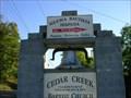 Image for Cedar Creek Baptist Church Bell ~ Spurgeon, TN