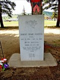 Image for Evel Knievel's Last Jump - His Grave - Butte, MT