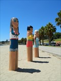 Image for Bathing Beauties Bollards - Geelong Waterfront, Victoria, AU
