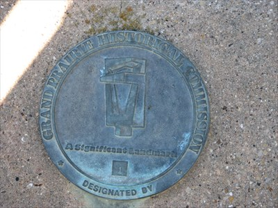 Designated Significant Landmark number 1 by the Grand Prairie Historical Society. Photo: January 1, 2010