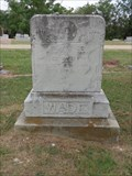 Image for Wade - Pleasant Ridge Cemetery - Sunnyvale, TX