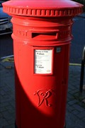Image for Victorian Post Box - St James's Gardens, London, UK