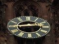 Image for Clock at the Kaiserdom St. Bartholomäus, Frankfurt - Hessen / Germany