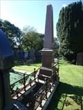 Image for Jane and Thomas Quark Obelisk – All Saints Churchyard – Lonan, Isle of Man