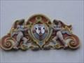 Image for Zwei Engel mit Wappen - Rathaus Münstermaifeld, RP, Germany