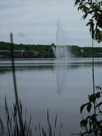 La fontaine du lac