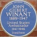 Image for John Gilbert Winant - Aldford Street, London, UK