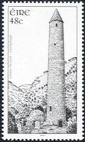 Image for Round Tower - Glendalough, Ireland