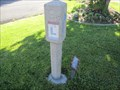 Image for Lincoln Highway Cement Marker - Magna, Utah