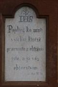 Image for Citat z bible - Mat.XI.28. - Žabcice, Czech Republic