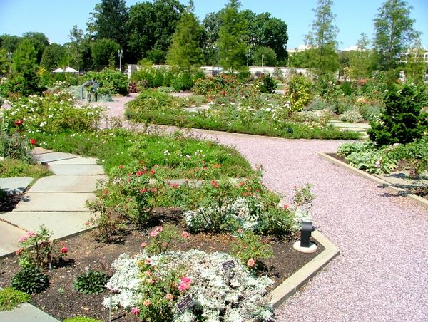 The National Garden Features Four Gardens: A Seven Bed Regional Garden  Featuring Plants Native To The Mid Atlantic Piedmont And Atlantic Coastal  Plains; ...