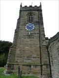 Image for Smisby town clock - St James' church - Smisby, Derbyshire