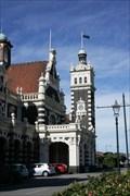 Image for Dunedin Train Station Town Clock — Dunedin, New Zealand