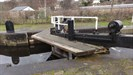 This gives access to the paddles on the lock gates and both sides of the canal.