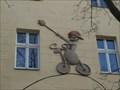 Image for Husita na kole / Hussite on bike - Praha - Žižkov, Czech republic