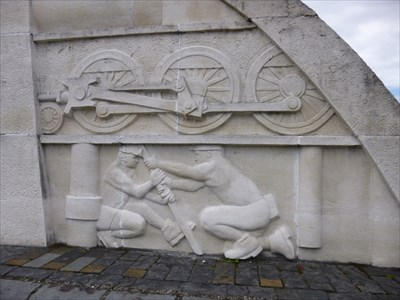 Local History Relief - Nelson - Wales.