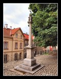 Image for Stone Wayside Shrine - Loket, Czech Republic