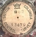 Image for 'British Columbian Control Survey' Benchmark - V3479