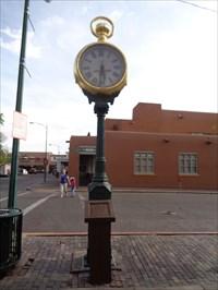 veritas vita visited The Spitz Clock