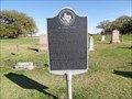 Image for De Zavala Cemetery - San Jacinto Battleground State Historic Site, La Porte, TX