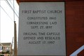Image for 1897 - First Baptist Church - Elberton, GA