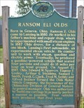 Image for Ransom Eli Olds - Historical Marker - Lansing, Michigan