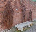 Image for Cycle Route Portrait Bench - Sale, UK