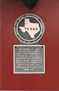 Image for Texas Histerical Marker - Panhandle, TX
