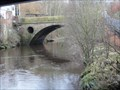 Image for Single Arch Brinksway Bridge Over The River Mersey - Stockport, UK